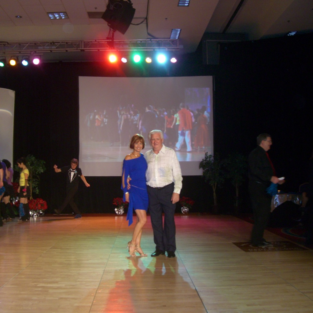 Don And Sue At Open Ceremony