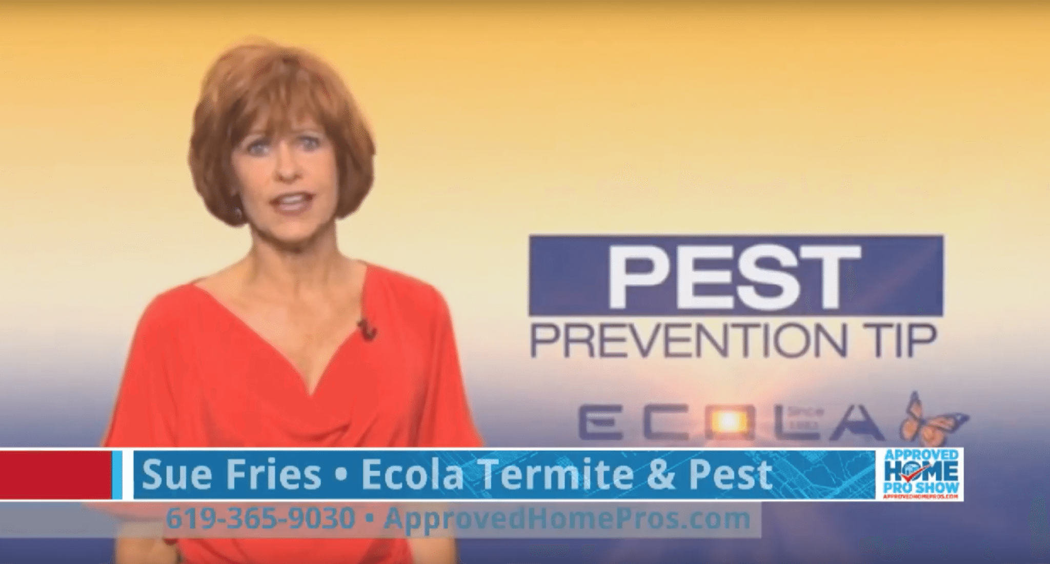 Sue Fries - Ecola Termite And Pest Control
